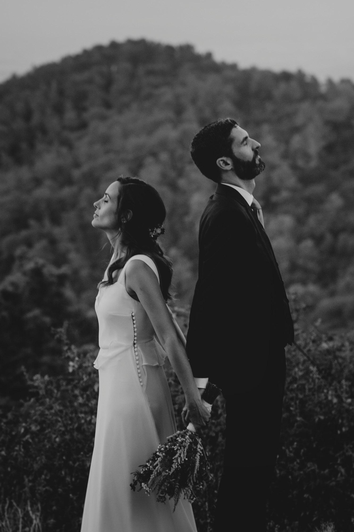 boda natural en la naturaleza