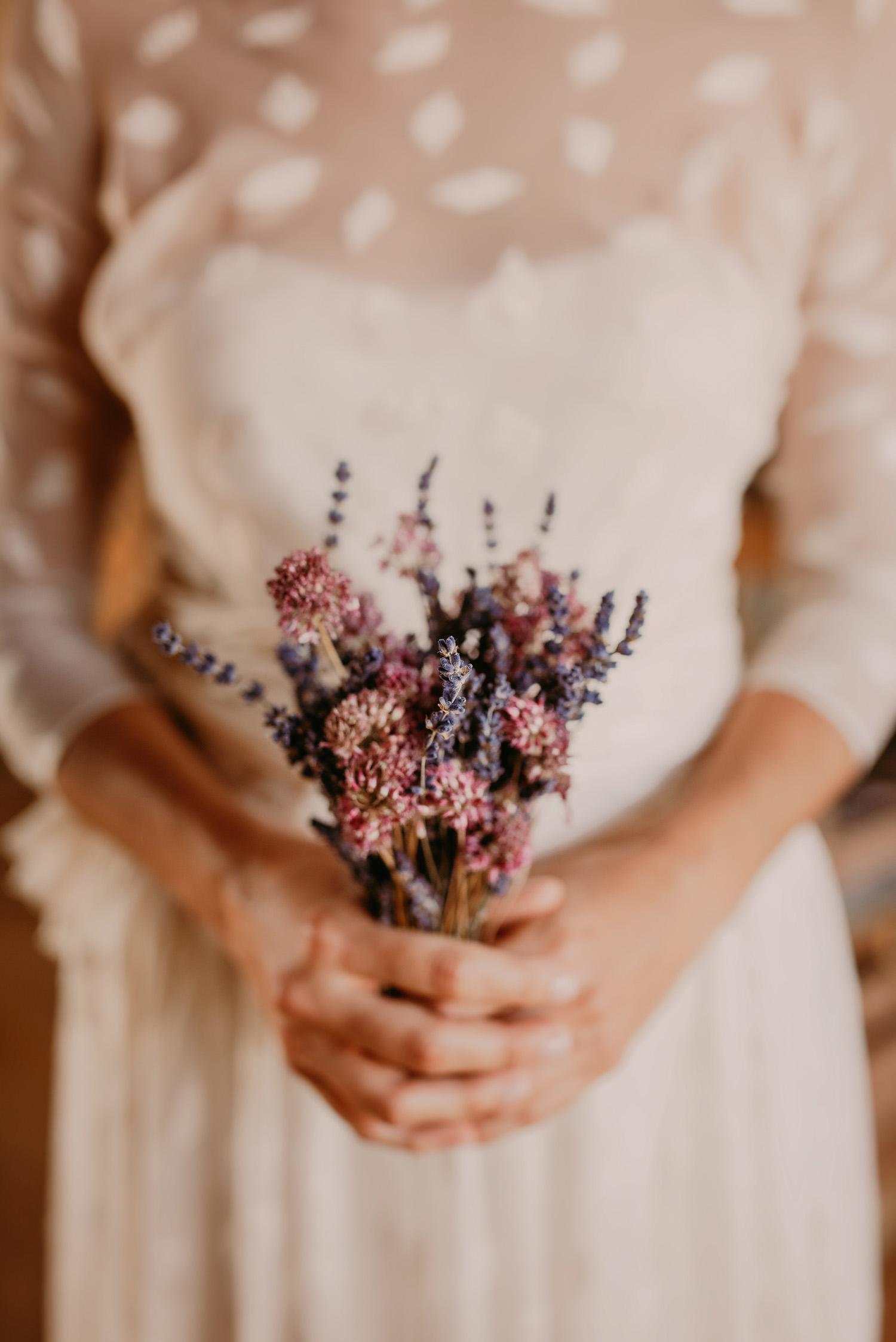 vestido novia natural girona